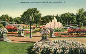 IN - Indianapolis, Garfield Park Sunken Gardens