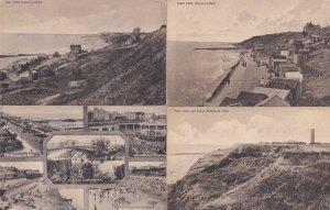 Clacton Walton On Sea 4x Old Postcard s
