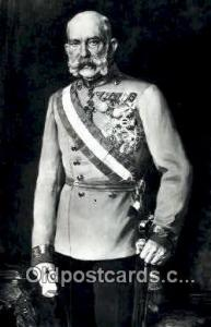 Kaiser Franz Joseph I British Royalty Postcard Postcards  Kaiser Franz Joseph I