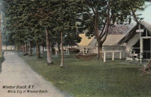 WINDSOR BEACH, New York, 1901-07; White City at Windsor Beach