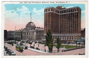 Providence, R.I., City Hall and Providence Biltmore Hotel