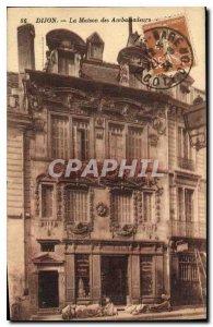 Old Postcard Dijon The House of Ambassadors