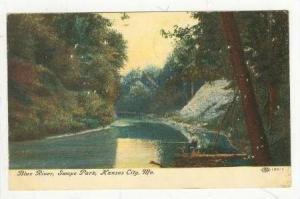 Blue River, Swope Park, Kansas City, Missouri, PU-1908