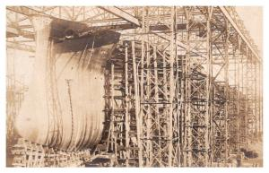 Ship Hull being Built  , RPC
