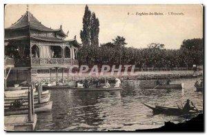 Old Postcard Enghien Les Bains The Pier