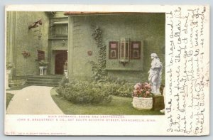 Minneapolis Minnesota~John S Bradstreet & Co~Entrance-Shops-Craftshouse~1909