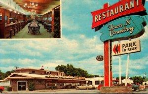 South Dakota Sioux Falls Town 'N Country Restaurant