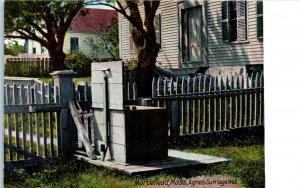 1910s Agnes Surriage Well Marblehead Massachusetts Postcard