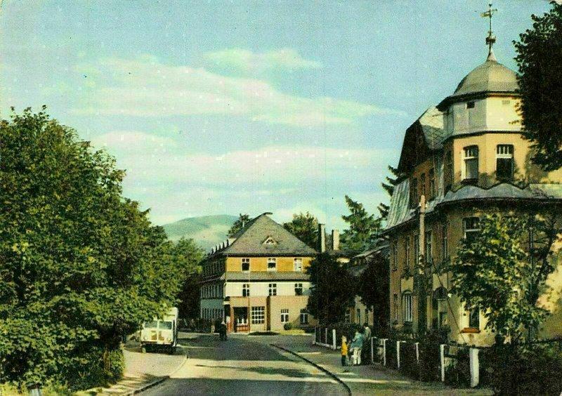 Poland Karpacz Ulica Odrodzenia Street Postcard