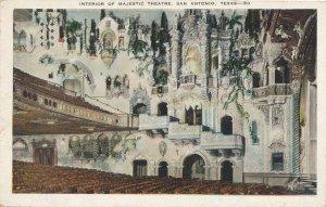 San Antonio TX, Texas - Interior of the Majestic Theater - pm 1932 - WB