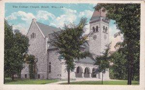 BELOIT, Wisconsin, 1900-1910s, The College Chapel