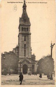 CPA PARIS 14e - Saint Pierre de Montrouge (87871)