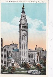 New York City The Metropolitan Life Insurance Building