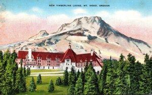 Oregon Mount Hood New Timberline Lodge 1944