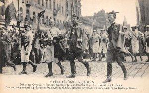 Lot 60 holiday sokols french gymnast and  president racine sport czech republic