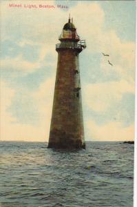 Minot Lighthouse Boston Harbor Massachusetts