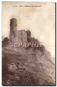 Old Postcard Chateau de Tournoel