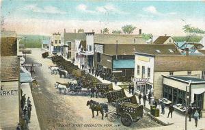 Crookston MN~Walker Horse-Drawn Wagons~Hurst Hotel~St Vincent-St Paul RPO Clean