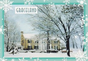 Snow At Graceland Memphis Tennessee