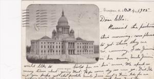 State House, PROVIDENCE, Rhode Island, PU-1905