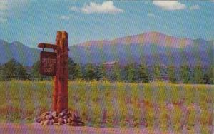 Colorado  Roadside Sign U S Air Force Academy Colorado Springs