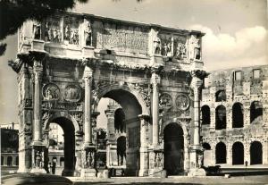 Italy - Rome. Arch of Constantine *RPPC