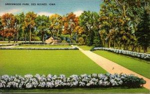 Iowa Des Moines Greenwood Park 1941