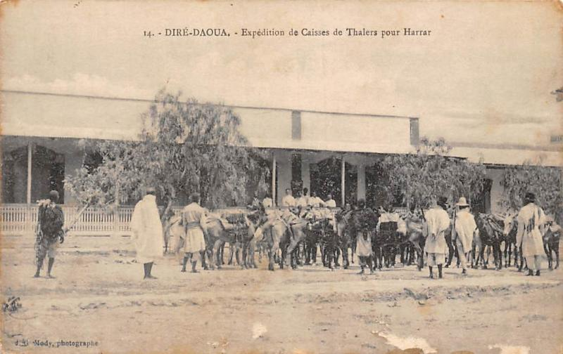 Ethiopia Dire-Daoua, Expedition de Caisses de Thalers pour Harrar