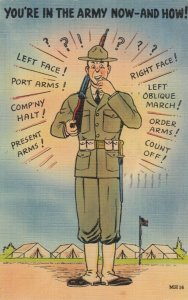 MILITARY COMIC, 1930-40s; You're in the Army Now - And How!