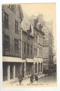 ORLEANS.- Maison de Jeanne d'Arc, France, 00-10s