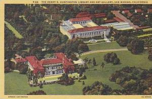 California San Marino The Henery E Huntington Library And Art Gallery