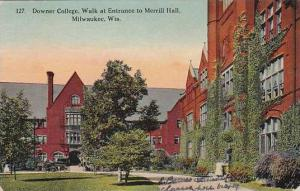 Wisconsin Milwaukee Downer College Walk At Entrance To Merrill Hall 1912