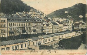 Czech Republic Postcard Karlsbad Karlovy Vary