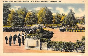 Roll Call US Naval Academy, Annapolis, Maryland USA Unused