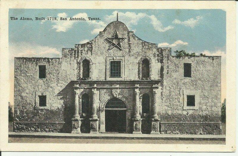The Alamo, Built 1718, San Antonio, Texas