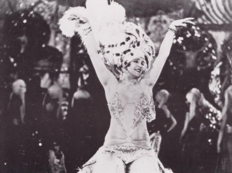 Moulin Rouge Robert Ziegler 1990 Rare London Cinema Photo Postcard