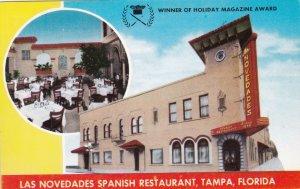 Florida Tampa Las Novedades Spanish Restaurant sk2378