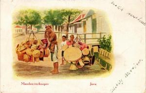 CPA JAVA Manden-verkooper INDONESIA (565980)