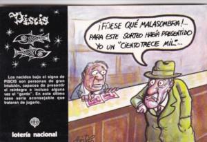 Advertising Loteria Nacional Spain PIscis