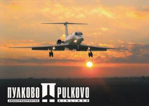 Pulkovo Aviation Enterprise Airlines Jet Airplane , BERLIN , Germany , 80-90s