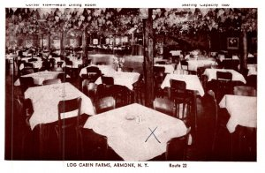 New York Armonk , Log Cabin Farms , Main Dining Room