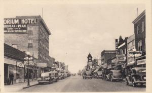 NORTH BATTLEFORD , Sask., Canada , 1930-40s ; King Street