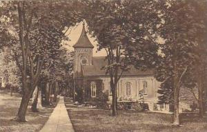 Campus Showing Lee Memorial Chapel, Washington & Lee University, Lexington, V...