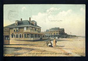 Salisbury Beach, Massachusetts/MA/Mass Postcard, Ocean View House, 1908!