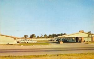 Idaho Falls Idaho~San Dee Motel~1960 Postcard