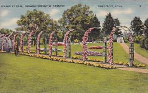 Beardsley Park Showing Botanical Gardens Bridgeport Connecticut 1950