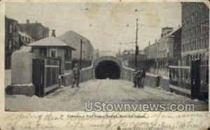 East Boston Tunnel - Maverick Square, Massachusetts MA