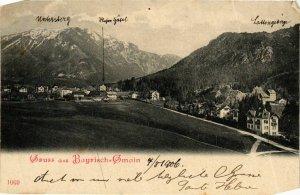 CPA AK Gruss aus Bayrisch Gmain GERMANY (921103)
