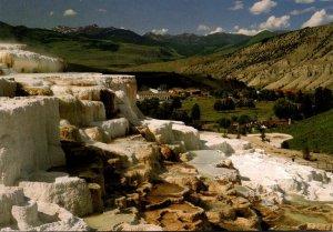 Yellowstone National Park Minerva Terrace
