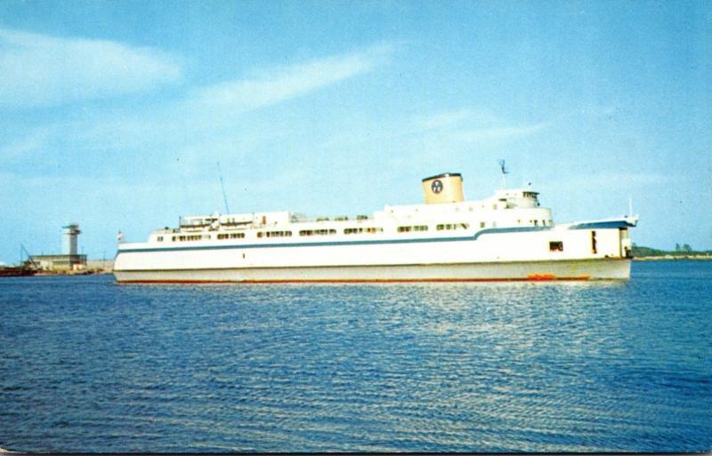 Automobile-Passenger Ferry Princess Anne Between Little Creek & Kiptopeke Bea...